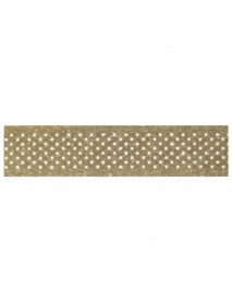 WASHI TAPE 30MM 15M SPOTTED GOLD