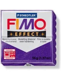 ΠΛΑΚΙΔΙΟ FIMO EFFECT 56GR PURPLE GLITTER
