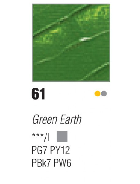 ACRYLIC STUDIO 250ML GREEN EARTH
