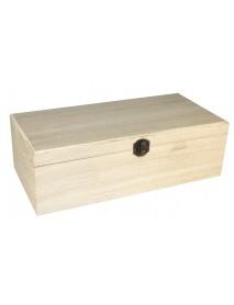 WOODEN BOX MIRROR+PHOTO FRAME