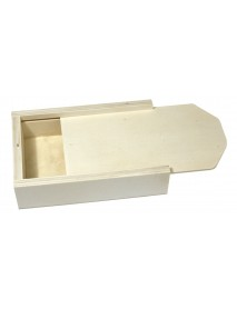 WOODEN BOX WITH SLIDING L