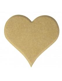 MDF HEART, 14 CM, TAB-BAG