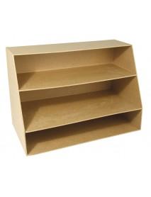 PAPIER-MACHE UTENSIL BOX,