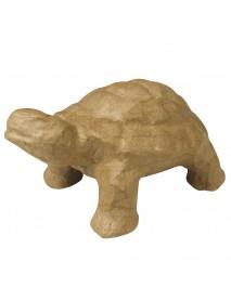 Papier-mache tortoise, 13,5x8x6 cm