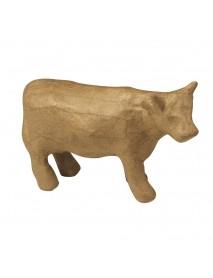 Papier-mache cow, 13x4,5x8,5 cm