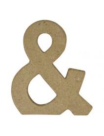 Papier-mache symbol