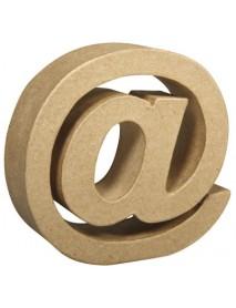 Papier-mache sign
