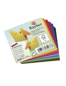 Folding papers-mini, FSC Mix Credit, 5x5cm, 80g/m2, 500sheets