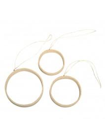 Papier-m. Quilling hanger circles,5-7cm,width:1-1.5cm 3pcs.