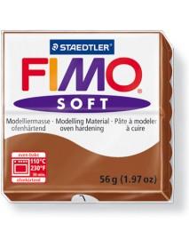 ΠΛΑΚΙΔΙΟ FIMO SOFT 56GR CARAMEL