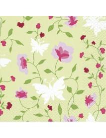 ΧΑΡΤΟΠΕΤΣΕΤΑ 33Χ33 BEAUTIFUL FLOWERS