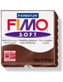 ΠΛΑΚΙΔΙΟ FIMO SOFT 56GR CHOCOLATE