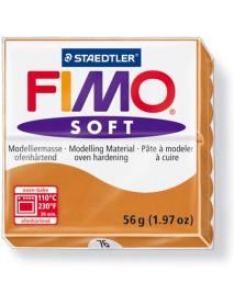ΠΛΑΚΙΔΙΟ FIMO SOFT 56GR COGNAC