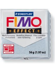 ΠΛΑΚΙΔΙΟ FIMO EFFECT 56GR SILVER GLITTER