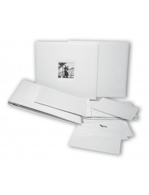 ALBUM, WHITE, SCREWED, 35X32 CM PACK