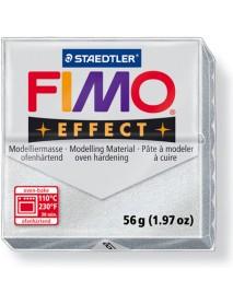 ΠΛΑΚΙΔΙΟ FIMO EFFECT 56GR SILVER METALLIC