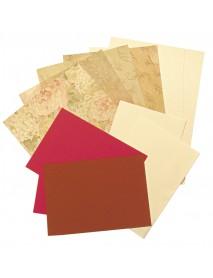 PAPER SET SCRAPBOOKING 30,5X30,5CM ORNAMENTS