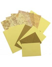 PAPER SET SCRAPBOOKING 30,5X30,5CM GARDEN