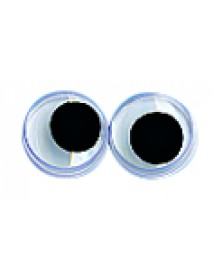 PLASTIC WIGGLING EYES, 7 MM
