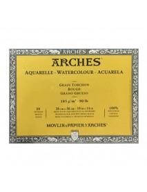 ΜΠΛΟΚ ΑΚΟΥΑΡΕΛΑΣ ARCHES ROUGH 185gr 26X36cm