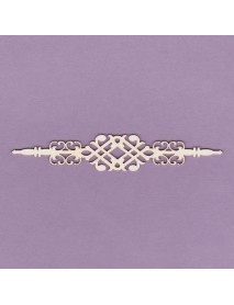 CHIPBOARD ORNAMENT BORDER 02