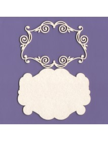 CHIPBOARD LABEL N BORDER