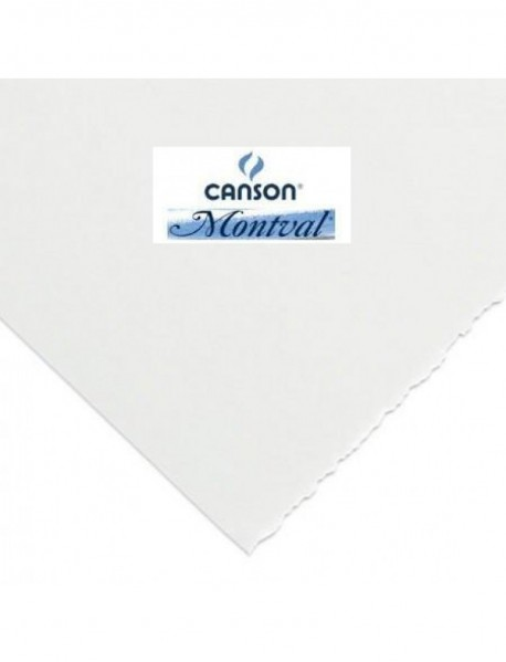 CANSON MONTVAL ΧΑΡΤΙ ΑΚΟΥΑΡΕΛΑΣ fine 55x75cm 300gr