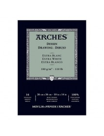 ΜΠΛΟΚ ΣΧΕΔΙΟΥ ARCHES  BFK RIVES EXTRA WHITE 180gr 26x36cm 16Φ