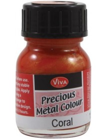 PRECIOUS METAL COLOR 25ML CORAL