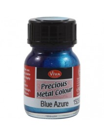 PRECIOUS METAL COLOR 25ML BLUE AZZURE