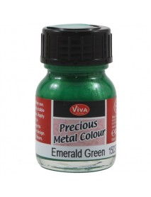 PRECIOUS METAL COLOR 25ML EMERALD GREEN