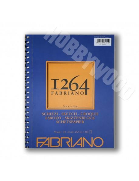 ΜΠΛΟΚ FABRIANO 1264 SKETCH SPIRAL LANDSCAPE 90gr A4 120Φ