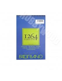 ΜΠΛΟΚ FABRIANO 1264 DISEGNO SPIRAL PORTRAIT 180gr A5 30Φ