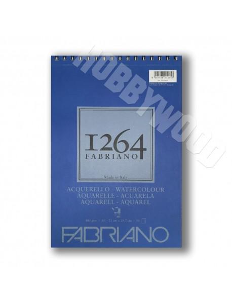 ΜΠΛΟΚ FABRIANO 1264 ΑΚΟΥΑΡΕΛΑΣ SPIRAL PORTRAIT 300gr A4 30Φ