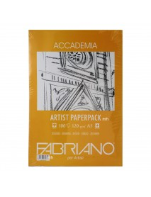 FABRIANO ACCADEMIA PAPERPACK 120GR A3 100Φ