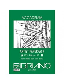 FABRIANO ACCADEMIA PAPERPACK 160GR A3 75Φ