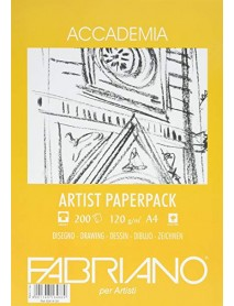 FABRIANO ACCADEMIA PAPERPACK 120GR A4 200Φ