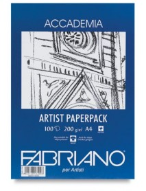 FABRIANO ACCADEMIA PAPERPACK 200GR A4 100Φ