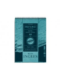 ΜΠΛΟΚ FABRIANO INGRES BLUES PASTEL A4 60Φ