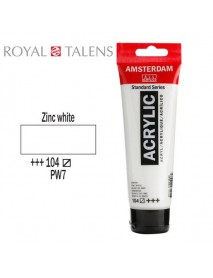 ΑΚΡΥΛΙΚΟ AMSTERDAM 120ML ZINC WHITE 104