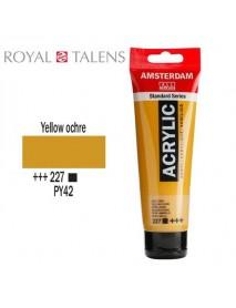 ΑΚΡΥΛΙΚΟ AMSTERDAM 120ML YELLOW OCHRE 227