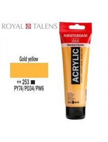 ΑΚΡΥΛΙΚΟ AMSTERDAM 120ML GOLD YELLOW 253