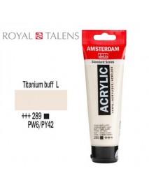 ΑΚΡΥΛΙΚΟ AMSTERDAM 120ML TITANIUM BUFF LIGHT 289