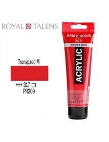 ΑΚΡΥΛΙΚΟ AMSTERDAM 120ML TRANSP. TROOD MIDDEL 317