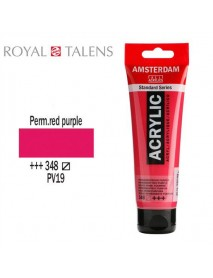 ΑΚΡΥΛΙΚΟ AMSTERDAM 120ML PERMANENT RED PURPLE 348