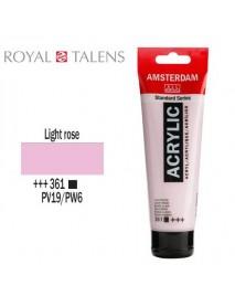 ΑΚΡΥΛΙΚΟ AMSTERDAM 120ML LIGHT ROSE 361