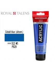ΑΚΡΥΛΙΚΟ AMSTERDAM 120ML COBALT BLUE 512
