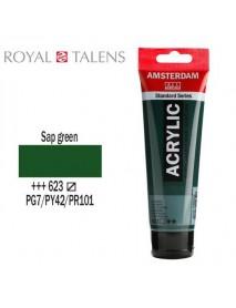 ΑΚΡΥΛΙΚΟ AMSTERDAM 120ML SAP GREEN