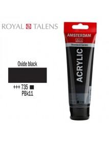 ΑΚΡΥΛΙΚΟ AMSTERDAM 120ML OXIDE BLACK