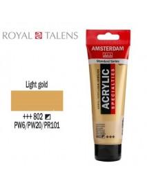 ΑΚΡΥΛΙΚΟ AMSTERDAM 120ML LIGHT GOLD